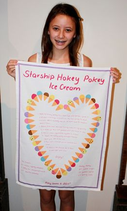 2011 - Hokey Pokey Ice Cream - raising $89,000